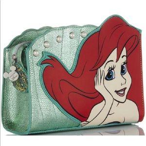 NWT Disney x Spectrum Ariel Cosmetics Makeup Bag